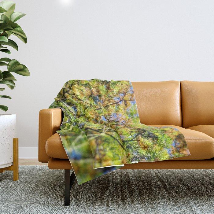 GeoBotanica V2 Throw Blanket