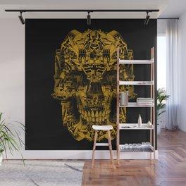 Skull Heavy Equipment Wall Mural