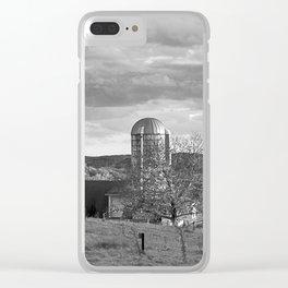 Cloudy Sky over Farm Clear iPhone Case