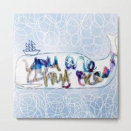 you are my ocean Metal Print
