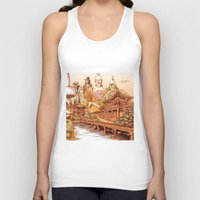 korean Tank Tops featuring Korean Travels by Lundy