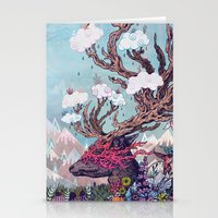 spirit Stationery Cards featuring Journeying Spirit (deer) by Mat Miller