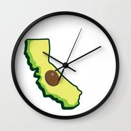 California Fresh Wall Clock