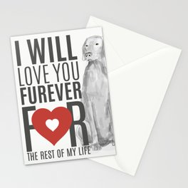 LOVE YOU FUREVER Stationery Cards