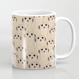 Meerkats Kalahari Desert Coffee Mug