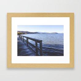 Lookout Dock Framed Art Print