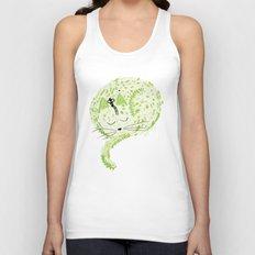 Fresh cat Unisex Tank Top