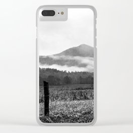 Smokey Mountains Clear iPhone Case