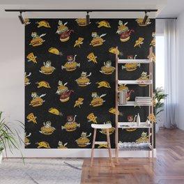 I Can Haz Cheeseburger Spaceships? Wall Mural