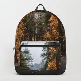 Autumn Forest Road II Backpack