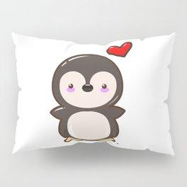 Penguin Kawaii Pillow Sham