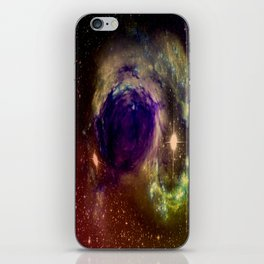 Galaxy Warps iPhone Skin