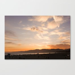 For the Love of Sunsets Canvas Print