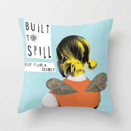 Built to Spill - Keep It Like A Secret Throw Pillow