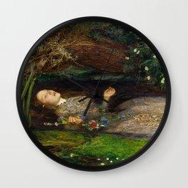 Ophelia A Wall Clock