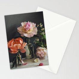 Still life with peonies, 2020 Stationery Cards
