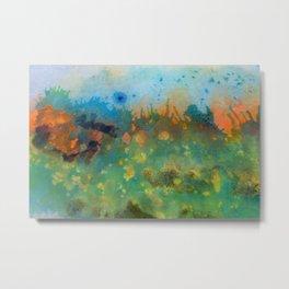 Soleil Bleu Metal Print