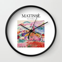 Matisse - View of Collioure Wall Clock
