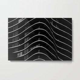 Aqua I Metal Print