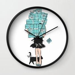 Tiffany gift Wall Clock