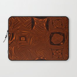 Abstract Art- Brown Art- Sacred Geometry Art- Mom From the Lotus Laptop Sleeve