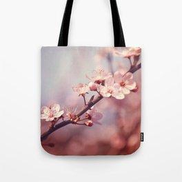 Joyful Pixie Cherry Blossom Tote Bag