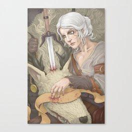 Cirilla and the Vicar Canvas Print