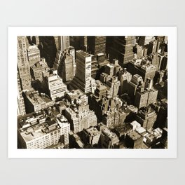 From the Empire State Building Art Print