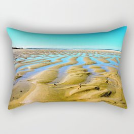 Waves of the Past Rectangular Pillow