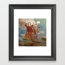 Did You Think We Would Stay? Framed Art Print