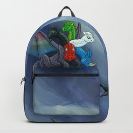 Tiamat the Five-Headed Dragon Backpack