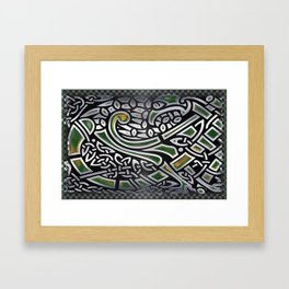 Celtic Birds Knot Work 3D Framed Art Print