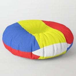 romania flag Floor Pillow