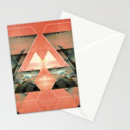 Abstract composition III Stationery Cards