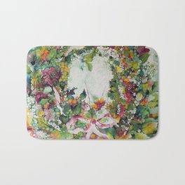 Flower Crown Bath Mat