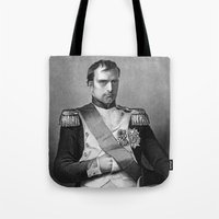 napoleon Tote Bags featuring Napoleon by Palazzo Art Gallery