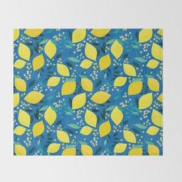 Lemonade Throw Blanket