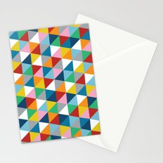 Triangles 45 Stationery Cards