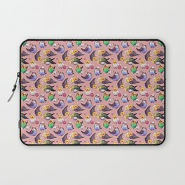 Budgies and Cockatiels Laptop Sleeve