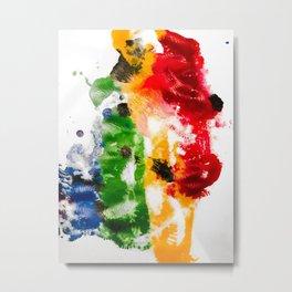 I bleed rainbows III Metal Print