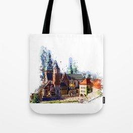 Cracow Wawel Castel Tote Bag