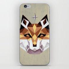 Geometric Fox iPhone & iPod Skin