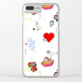 Favorites Clear iPhone Case
