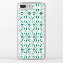 Atlantis Tiles Clear iPhone Case