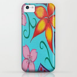 Flowers and Paisleys iPhone Case