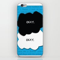 fault in our stars iPhone & iPod Skins featuring the fault in our stars by lizbee