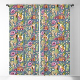 Hula Half Drop Blackout Curtain