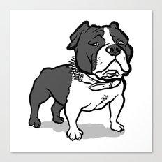 Bully Canvas Print