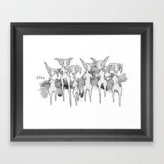 Lurkers Framed Art Print