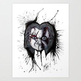 The Horror of Chucky Art Print